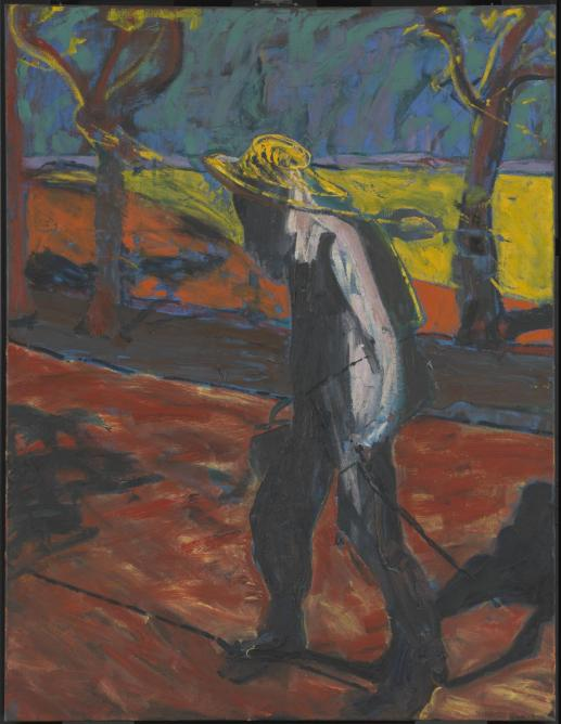 Study for a Portrait of Van Gogh IV 1957 by Francis Bacon 1909-1992