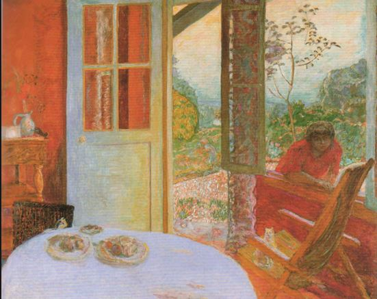 Bonnard-the dining room