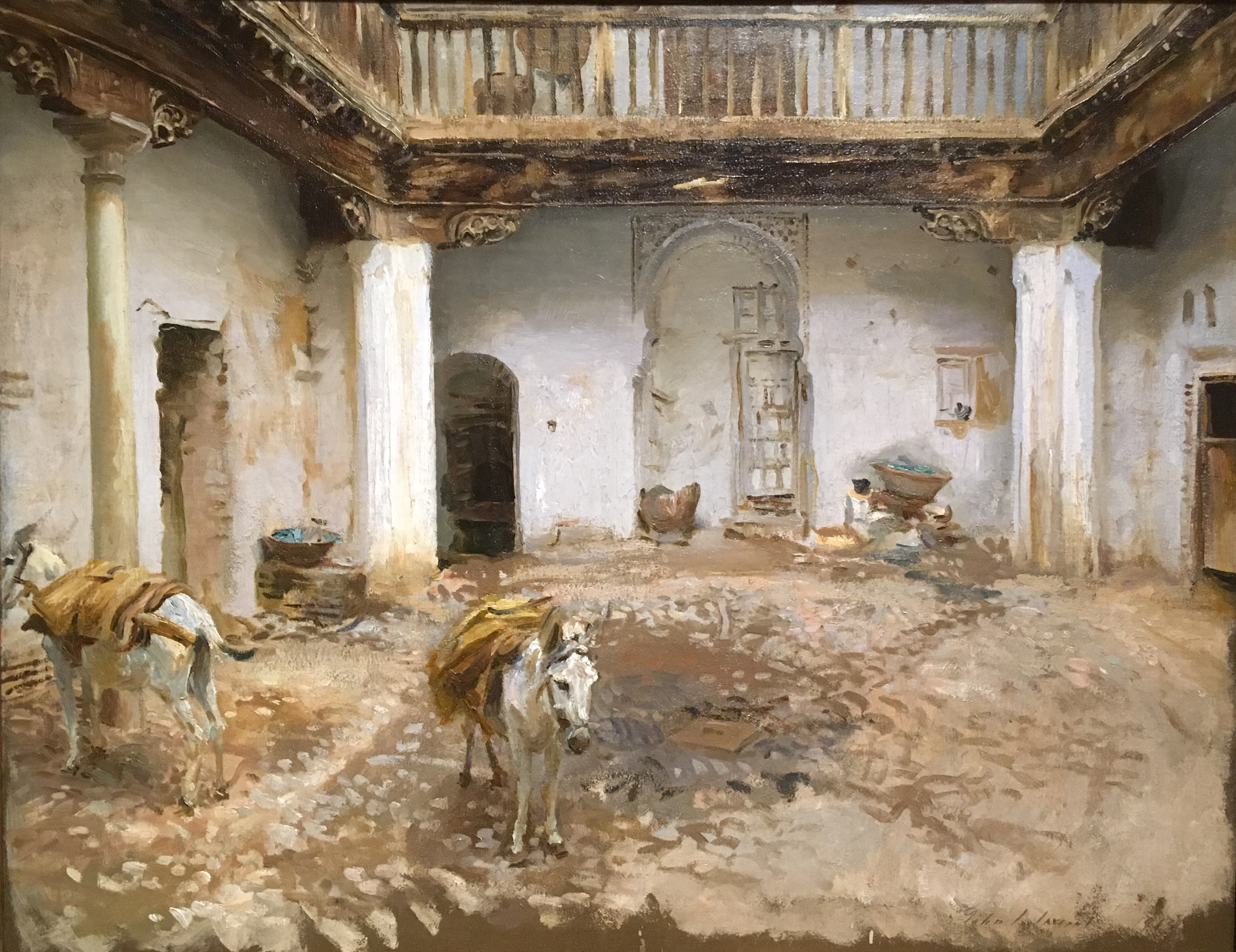 Sargent Moorish Courtyard