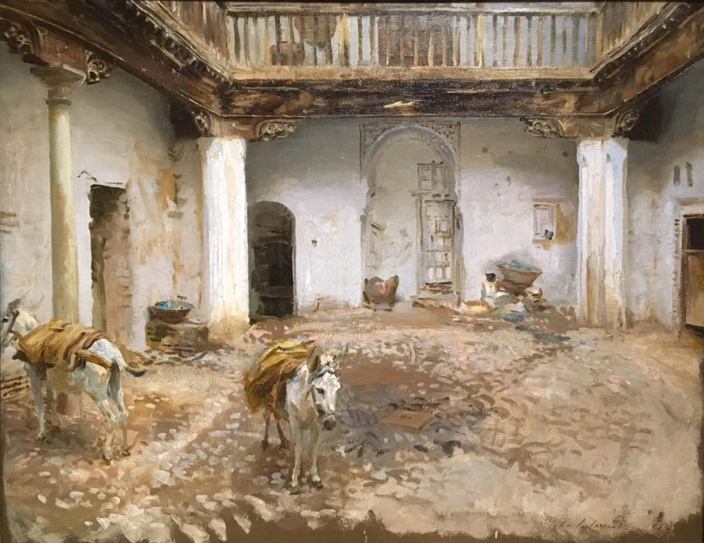 Sargent Moorish Courtyard